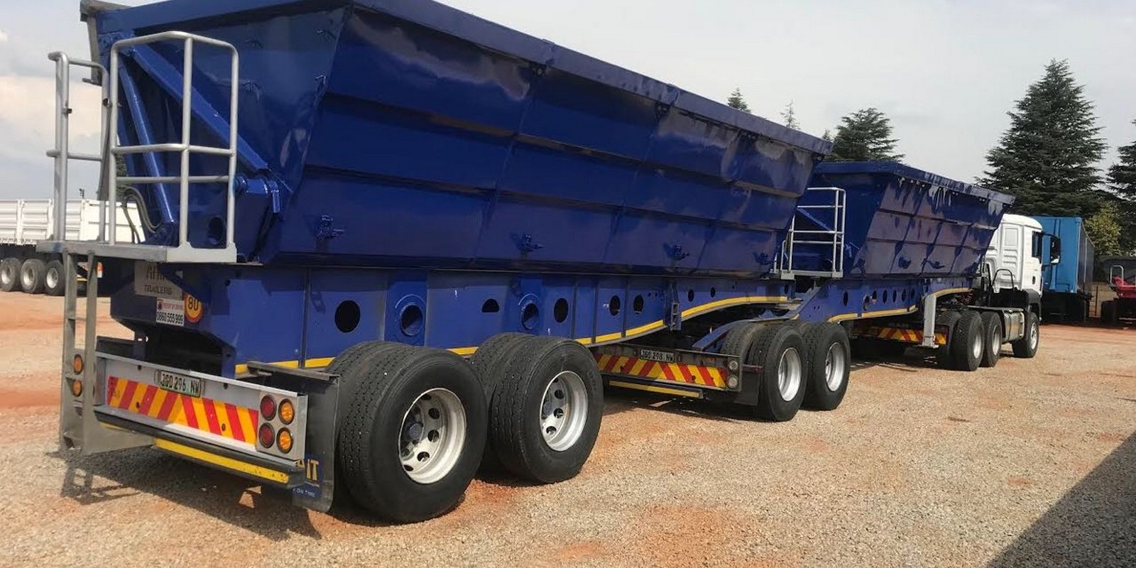 Start Your Own Trucking Business, 34 Ton Side Tippers, Become A Trucker In Lesotho
