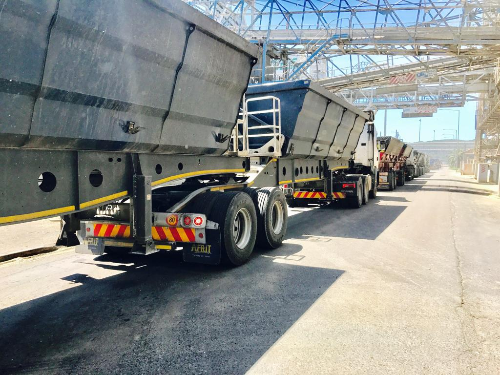 Start Your Own Trucking Business, 34 Ton Side Tippers, Become A Trucker In Springbok, Northern Cape