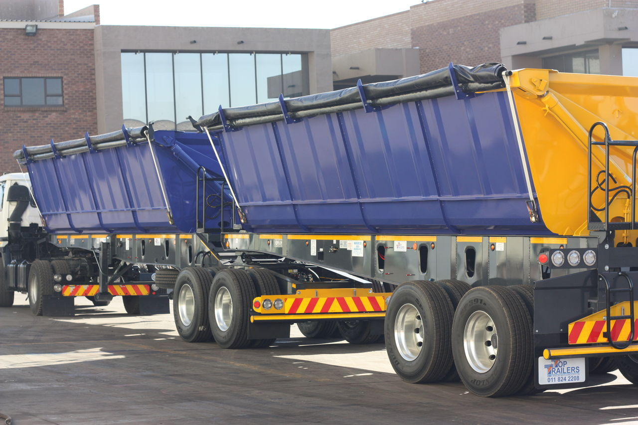 Start Your Own Trucking Business, 34 Ton Side Tippers, Become A Trucker In Swaziland