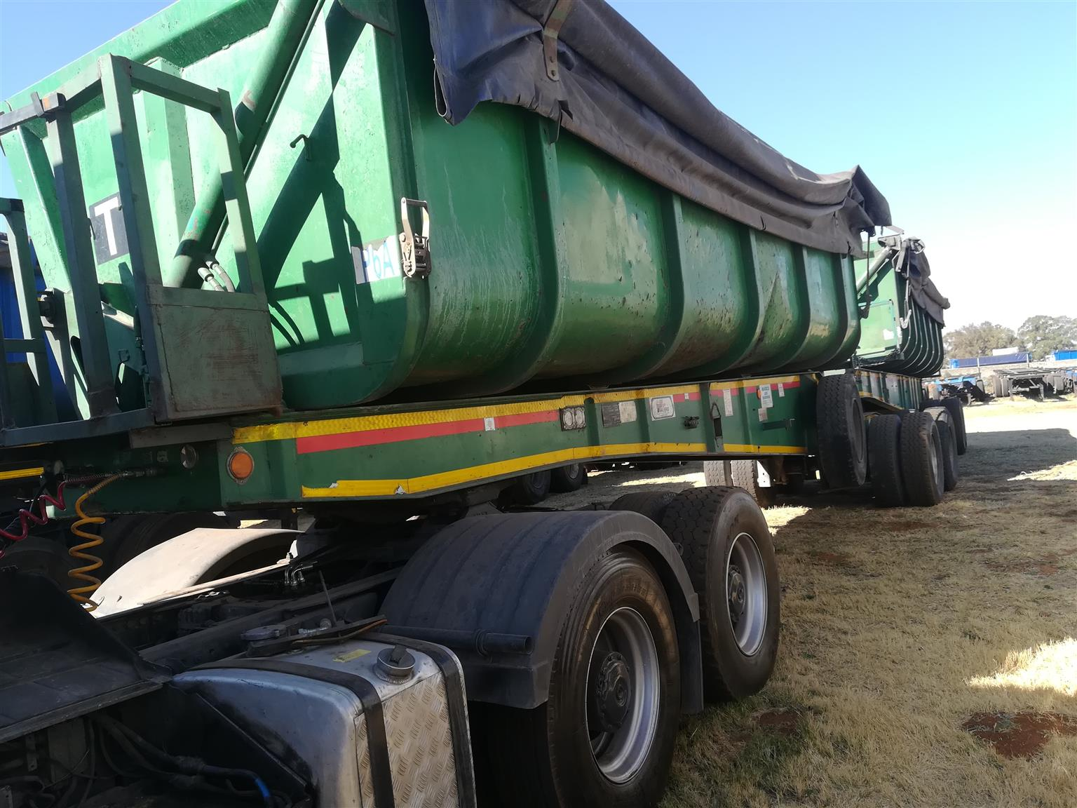Start Your Own Trucking Business, 34 Ton Side Tippers, Become A Trucker In Kuruman, Northern Cape